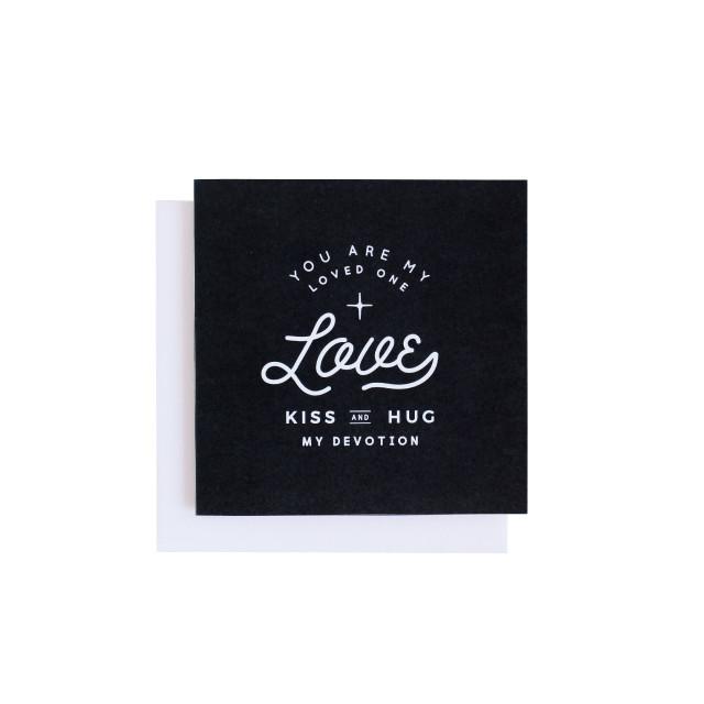 《LOVE》カード MONO