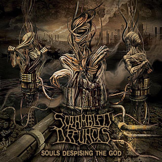 SCRAMBLED DEFUNCTS『Souls Despising the God』CD 少し難あり