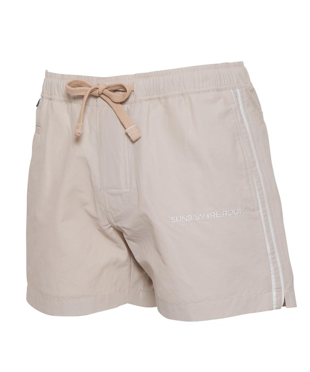 SUNS EMBROIDERY SIDE LINE SWIM SHORTS[RSW034]