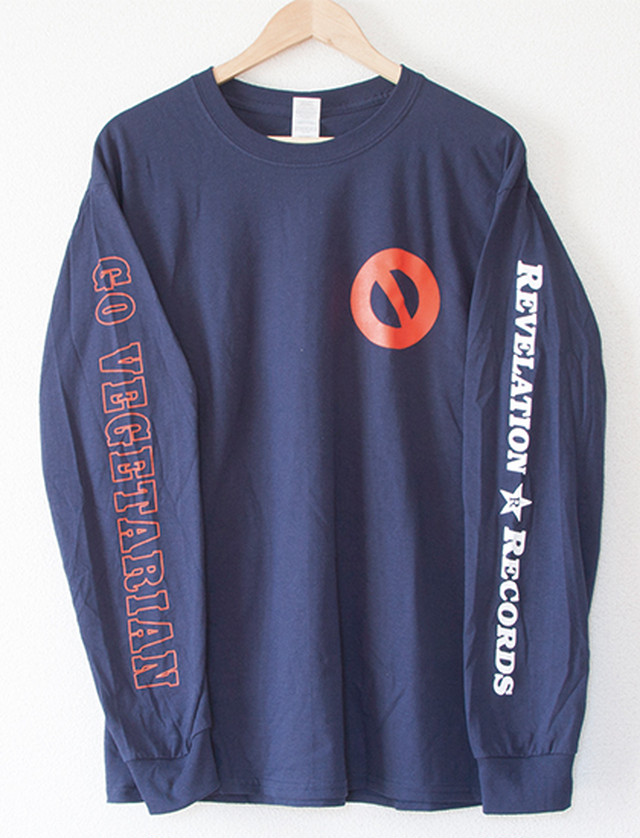 ※Restock【YOUTH OF TODAY】No More Long Sleeve (Navy)