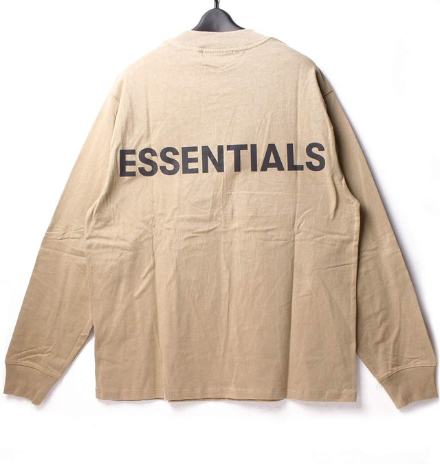 Fear Of God Essentials フィアオブゴッド エッセンシャルズ ロンT TWILL XS [全国送料無料] r017037