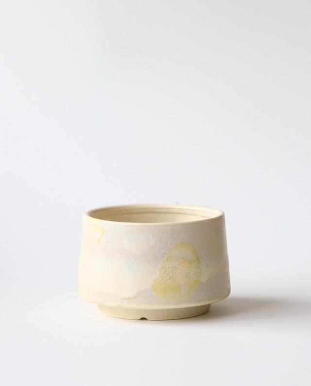 Pot. Base(島イエロー) 植木鉢