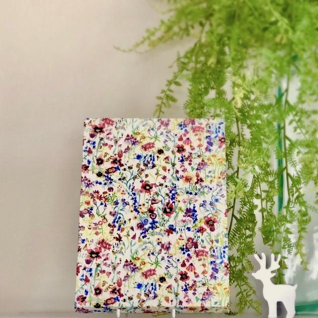 【Floral Picnic】 LIBERTY木製ファブリックパネル SM