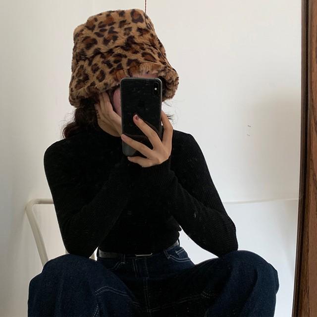 【小物】合わせやすいファッション感満々防寒帽子