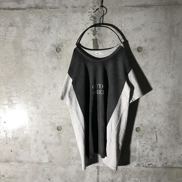 [STUSSY] center logo designed T-shirt