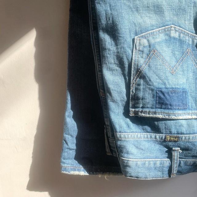 "USED "" Wrangler  boot-cut jeans / ラングラー ブーツカットジーンズ """