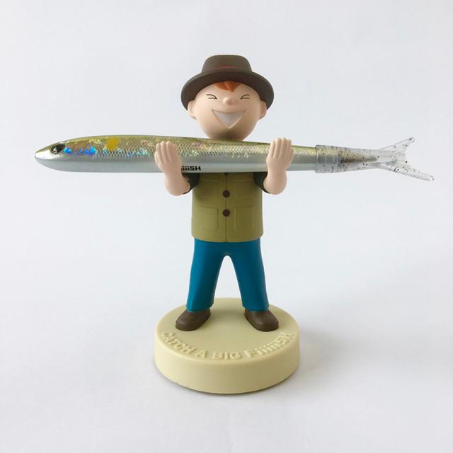 ペンホルダー Fish Boy(Khaki Vest)|Pen Holder