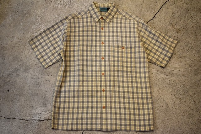 USED  patagonia S/S shirt S 90s vintage S0195
