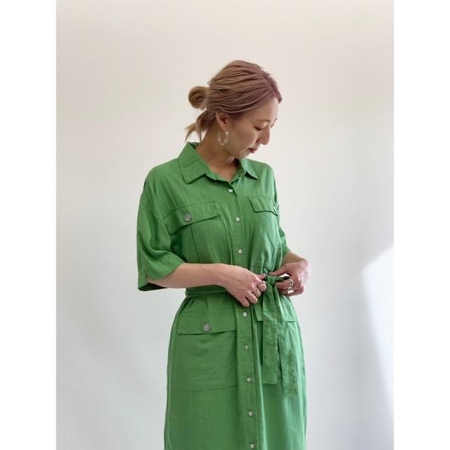 MANIC MONDAY /ハンターシャツドレス(1S63007E)