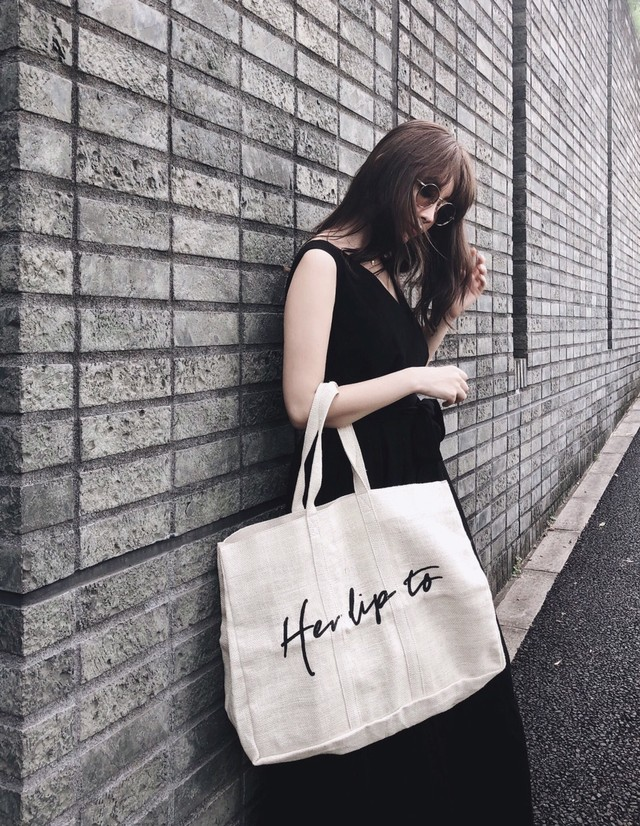 Linen Big Tote Bag