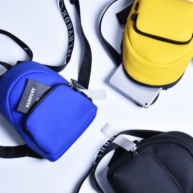 iplaybox リュックサック PU シンプル カジュアル 防水 ファスナー