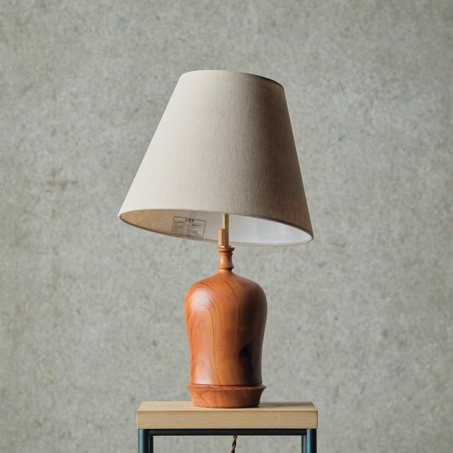 燈台 / Table Lamp-009 / 欅