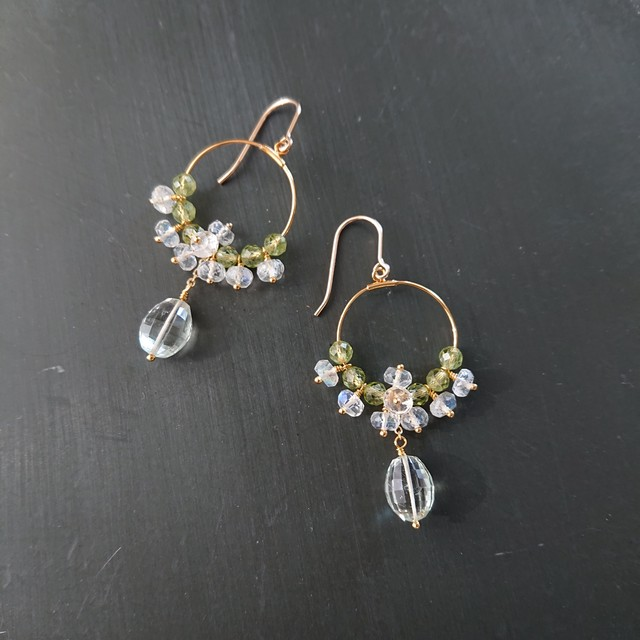 chandelier pierce / earring 007