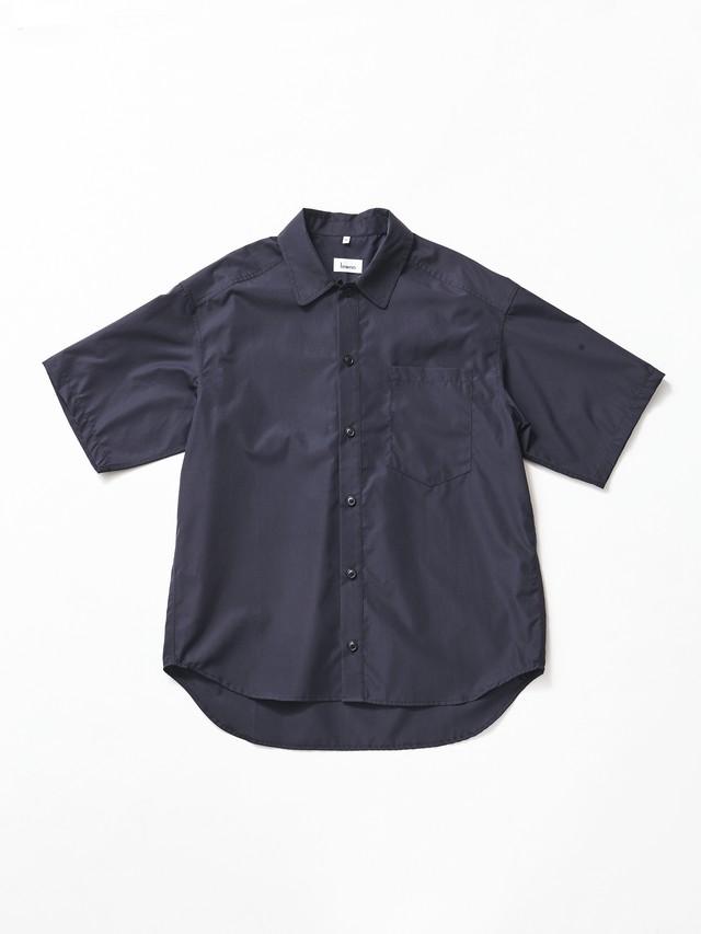Lownn Short Sleeve Popeline Shirt Black SS.PS-03570