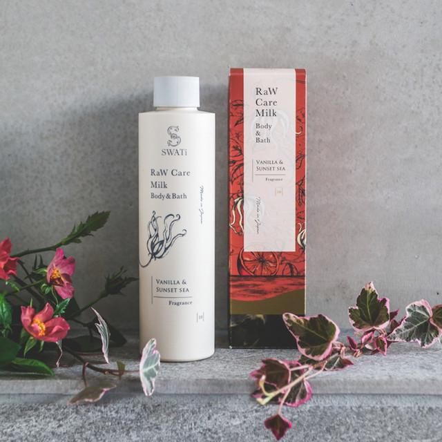 Raw care milk body&bath/Vanilla