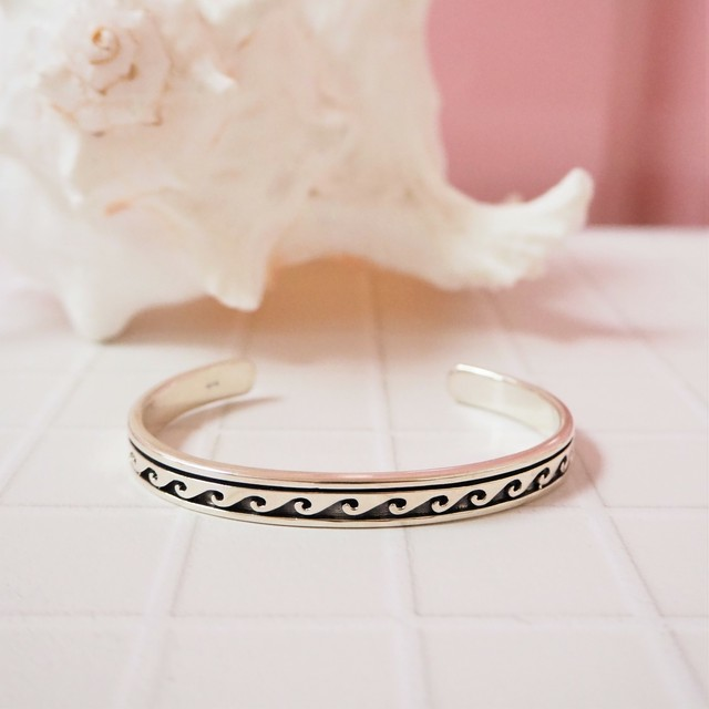 Wave Bangle for WOMAN【SILVER925】  18380440