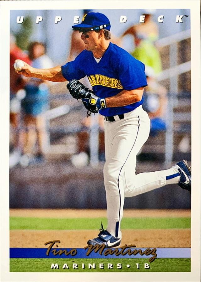 MLBカード 93UPPERDECK Tino Martinez #287 MARINERS
