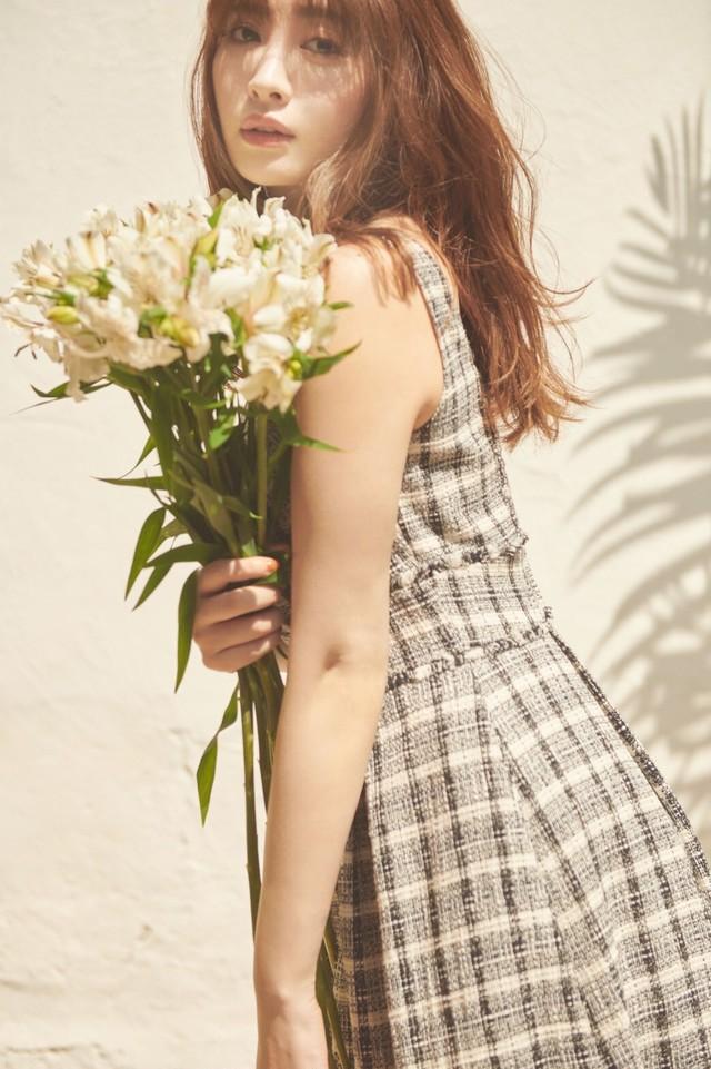 Summer Tweed Midi Dress