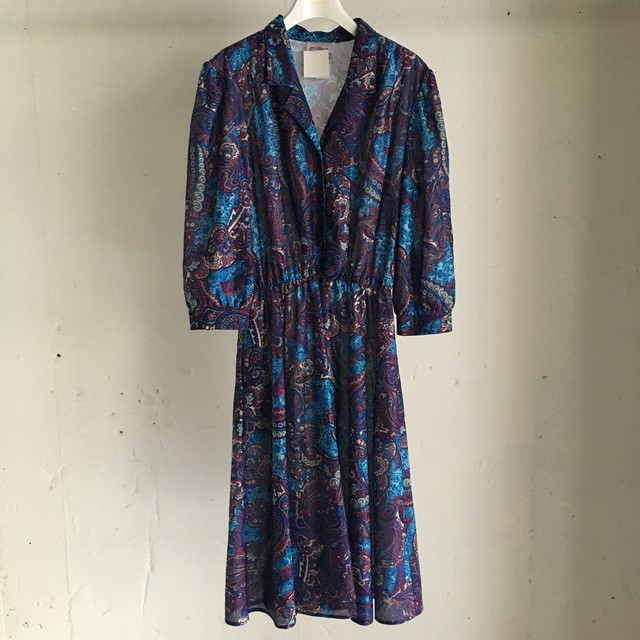 Made in USA 70's〜80's Vintage One Piece
