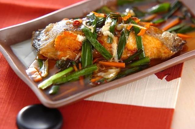 【5人前☆】(主菜)カレイの唐揚げあんかけ&(副菜)ニンジンとホウレン草のナムルのミールキット