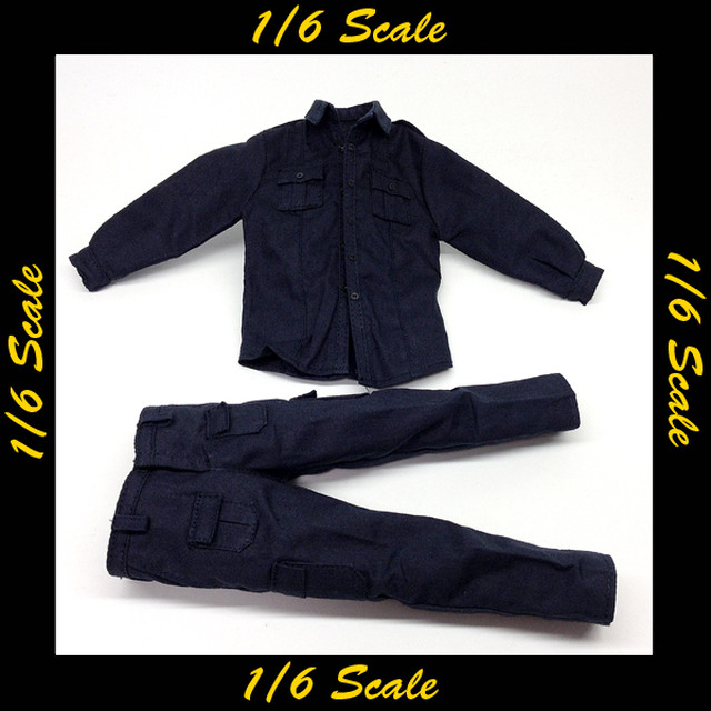 【01966】 1/6 ZC World US Riot Police 制服