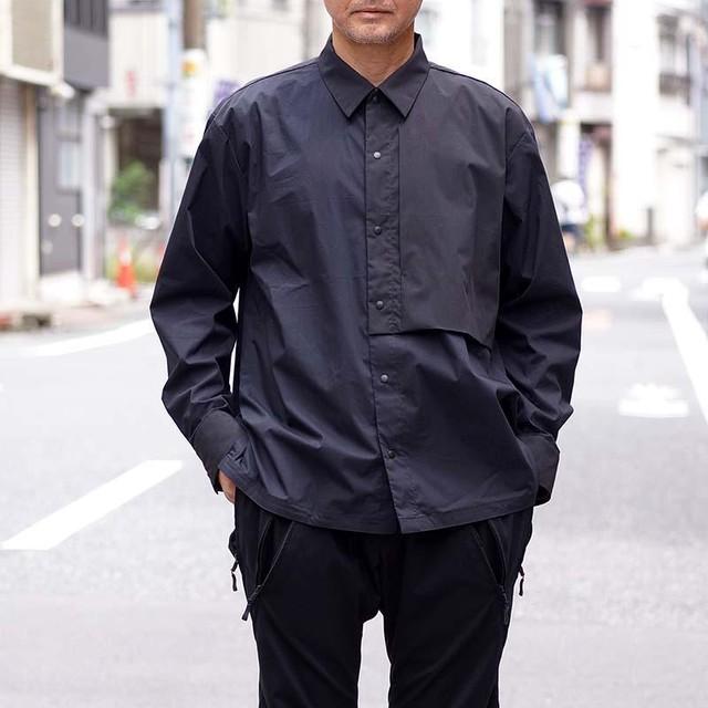 シャツジャケット ブラック [LT-OB02]