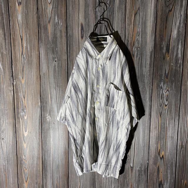 [used]like wave thin purple shirt