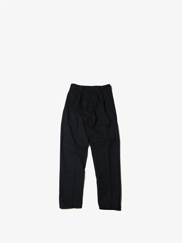"EACHTIME.  ""2 Tuck Pants""  Black"