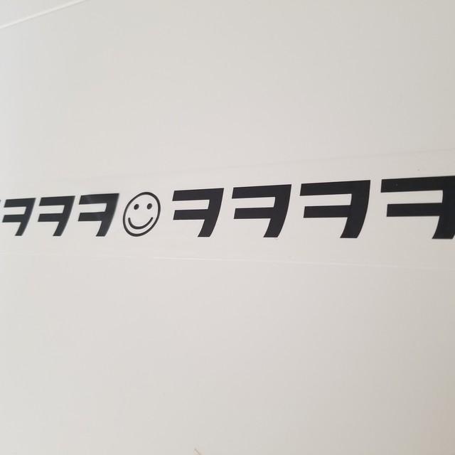 【otona joshi seoul オリジナル】ㅋㅋㅋ ハングルテープ