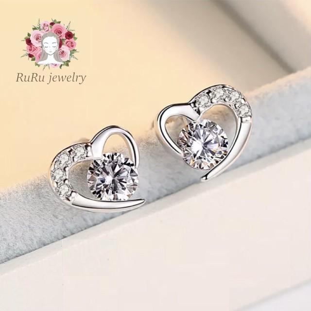Angel heart silver925(pierce)