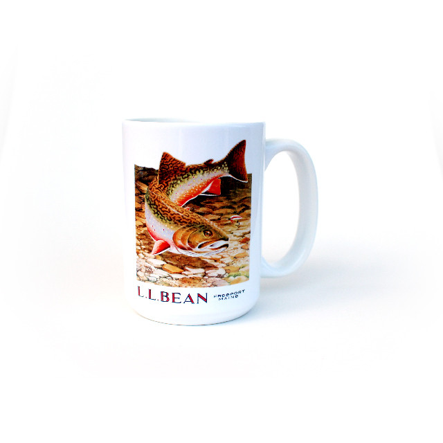 L.L.Bean BIG Mug 500ml / Fish