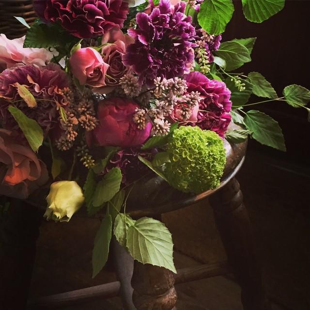 *母の日*季節の花のおまかせブケ ( S size)6800円*本州送料無料