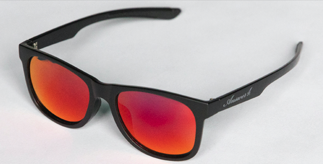 【Answer4】Sunglass (Mut Black x Red Mirror)
