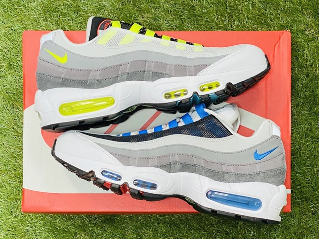 NIKE AIR MAX 95 QS SPLIT STYLE GREEDY 27cm CJ0589-001 80 7748