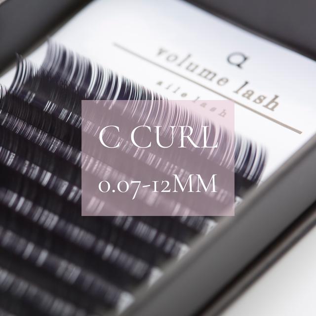 EX106 0.07Cカール12ミリ Volume lash