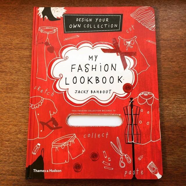 ファッションの本「My Fashion Lookbook/Jacky Bahbout」 - メイン画像
