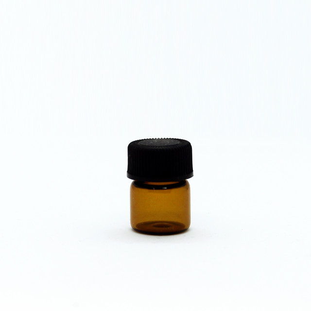 Amber Glass Bottles 1mL 20 pieces