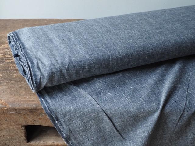 bengal fabric b20 black chambray