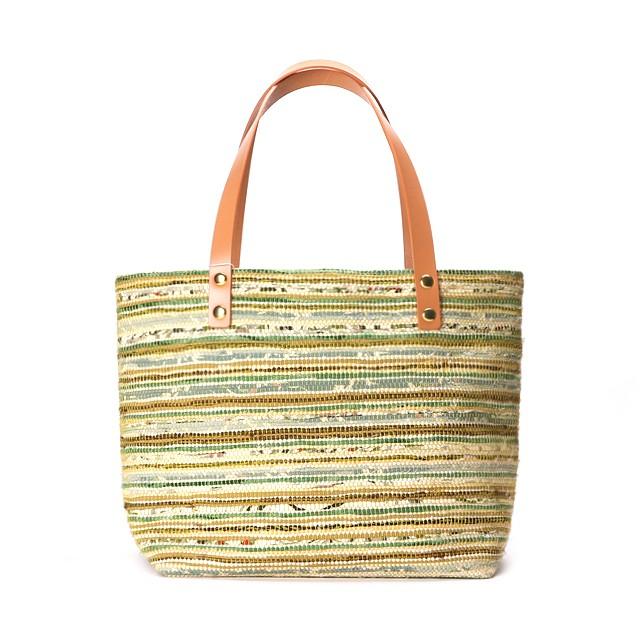 Bag / Beige × Green : 9010