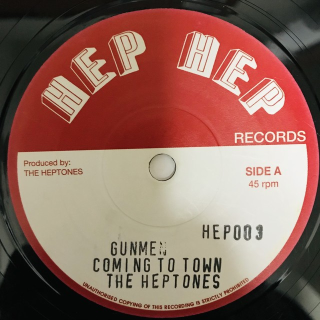 The Heptones - Gunmen Coming To Town 【7-1114】