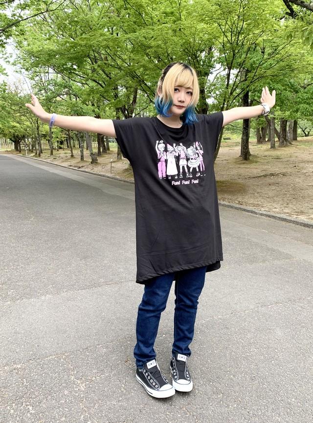 """MIKAZUKI / ミカヅキ  """" Music Makes Me xxx """" ドルマンワンピース ブラック[ OP-015 ]"""