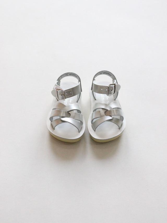Salt Water  Swimmer   Premium Silver  size 9 10 11 12 13