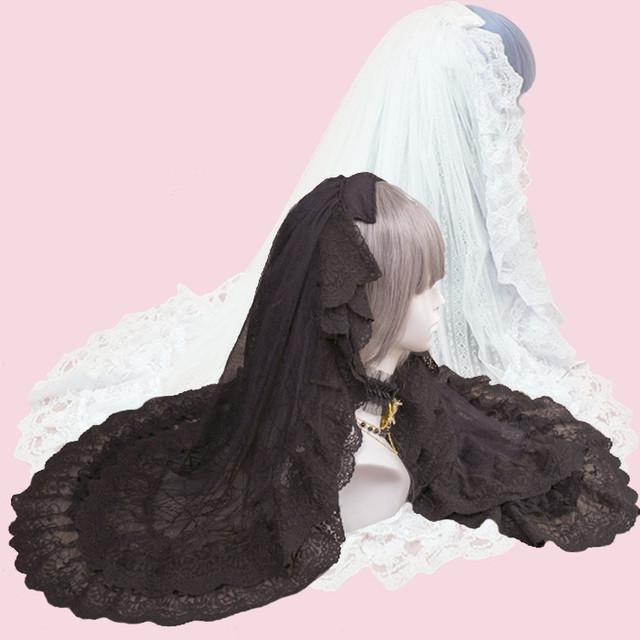 [2color] 天使と悪魔の花嫁ベール
