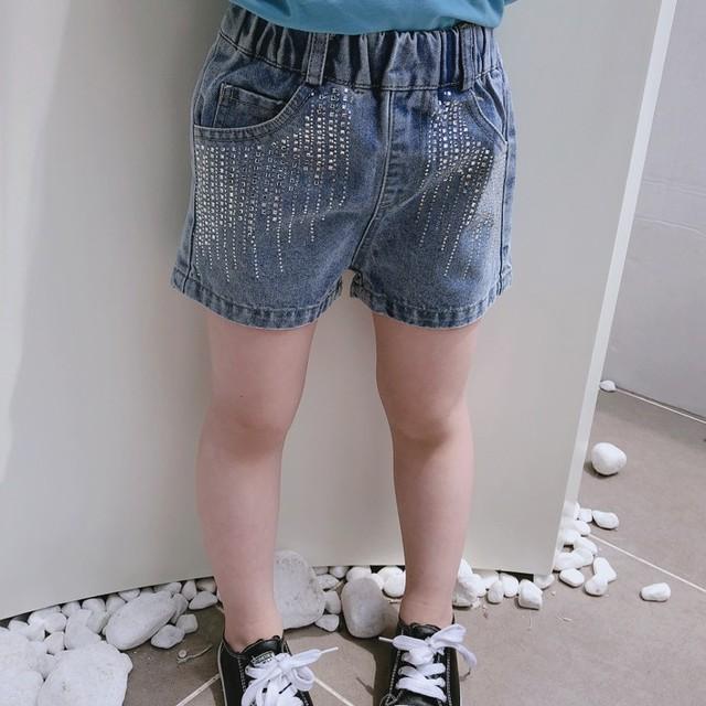 【子供服】今年絶対にマストな美腿効果抜群デニムショートパンツ20670197