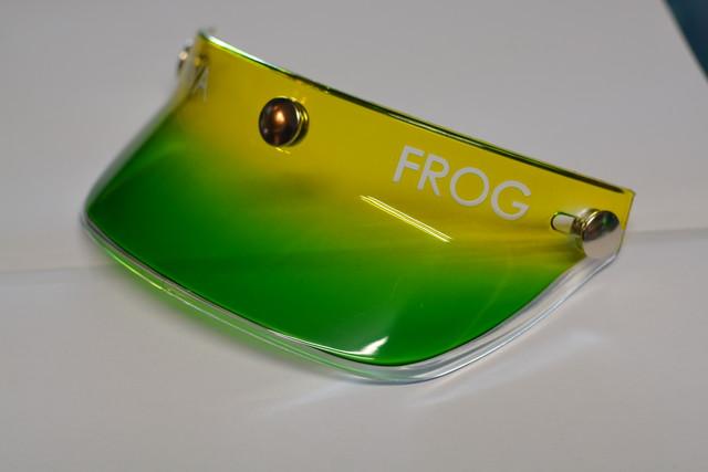 Frog-Viva コラボ オリジナルペイント バイザー