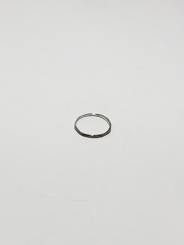 twig ring s / silver(再入荷)