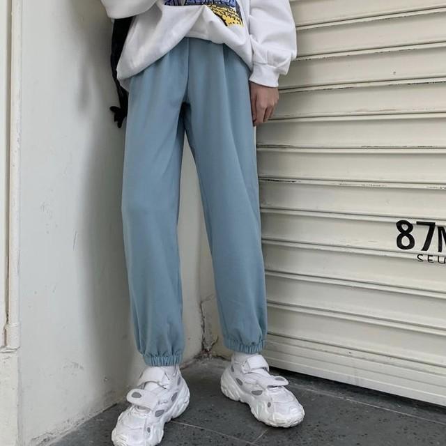 カジュアル スウェット パンツ 6色 B3325【4/5まで10%OFF!!】