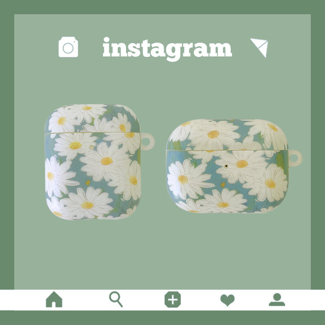 Daisy flower airpods1/2 Pro case