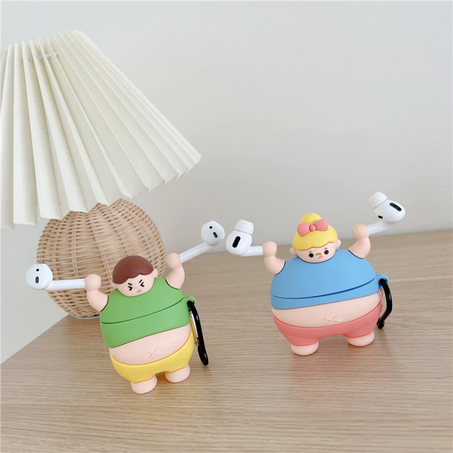 Fat girls and boys airpods case