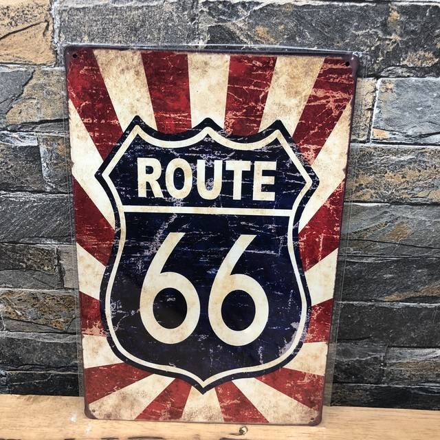 route66 プレート